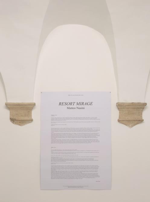 OPERATIVA ARTE CONTEMPORANEA :: Exhibition :: MATTEO NASINI | Resort Mirage