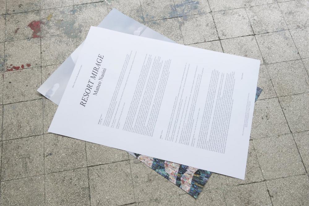 OPERATIVA ARTE CONTEMPORANEA :: Exhibition :: RESORT MIRAGE   Poster