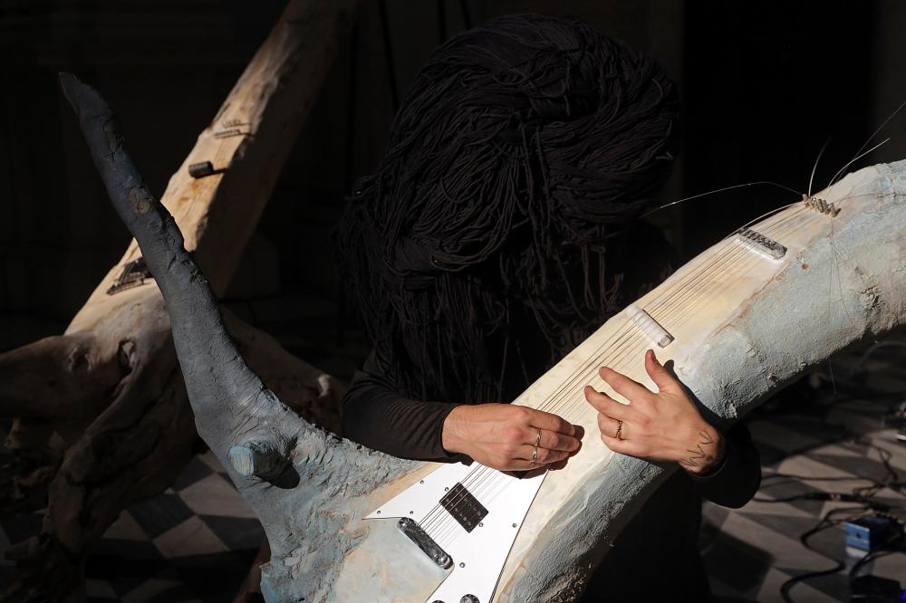 OPERATIVA ARTE CONTEMPORANEA :: Exhibition :: EMILIANO MAGGI | The Nymphs Orchestra