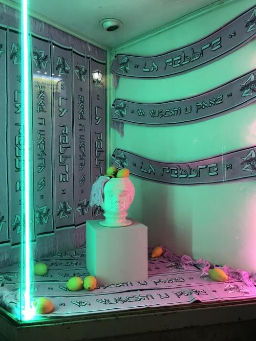 OPERATIVA ARTE CONTEMPORANEA :: Exhibition :: Va Vuscati u Pane   LA FEBBRE